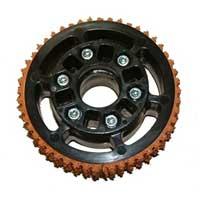 "AndyMark 4 Plaction Wheel Pair 4"" diameter Roughtop Tread (am-2404)"