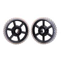 "AndyMark 6 Higrip Wheel Pair 6"" Diameter Polycarbonate Body (am-2398)"