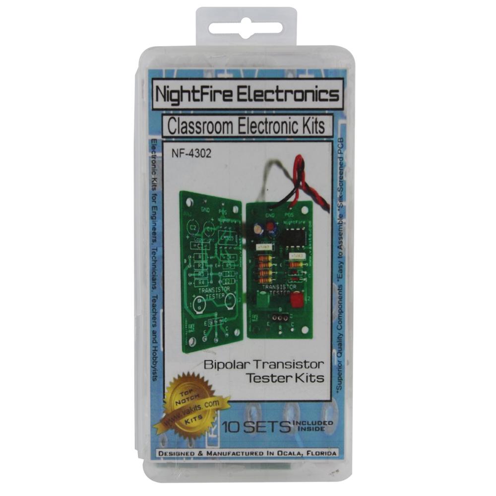 Nightfire Bipolar Transistor Tester Kit