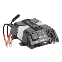 Rally 500 Watt Power Inverter w/ USB Port & Map Light
