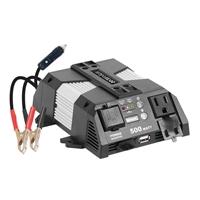 Rally 500 Watt Power Inverter w/ USB Port & Map Light