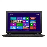 "Toshiba Satellite C55-B5353 15.6"" Laptop Computer Refurbished - Textured Resin in Jet Black"