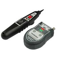 RJ45/Coax Pocket Cable Tester with Probe