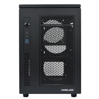 Case Labs Mercury S3 Aluminum mini-ITX Cube Case v100 - Black (Unassembled)