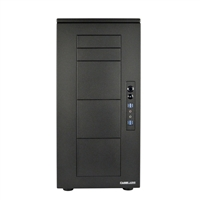 Case Labs Merlin SM8 Enthusiast Grade Aluminum E-ATX/ATX Full Tower Case v100 - Black (Unassembled)