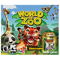 Cosmi World of Zoo w/bonus Kartz Racing (PC)