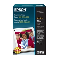 "Epson 4""x6"" Premium Photo Semi-gloss Paper 40 Sheets"