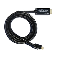 Cirago 6 ft. Mini DisplayPort to HDMI Display Adapter
