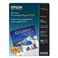 "Epson 8.5""x11"" Premium Presentation Matte Paper 100-Sheets"