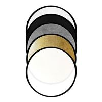 Savage Impact 5-in-1 Collapsible Circular Reflector Disc - 32""
