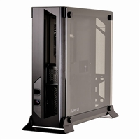 Lian Li PC-O5SX Wall-Mountable Open Air mini-ITX Chassis - Black