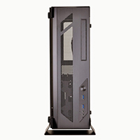 Lian Li PC-O6SX Wall-Mountable Open Air micro-ATC Chassis - Black