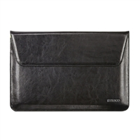Cyber Acoustics Maroo Executive Collection Premium Leather Sleeve for Surface Pro 3 - Black