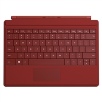 Microsoft Surface 3 Type Cover - Red