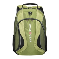 "Swiss Gear Mercury Laptop Backpack Fits Screens up to 16"" - Green/Black"