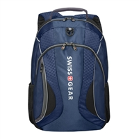 "Swiss Gear Mercury Laptop Backpack Fits Screens up to 16"" - Blue/Grey"