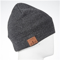 TenErgy BH001-6 Bluetooth Beanie - Charcoal Gray