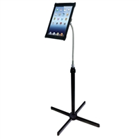 CTA Digital Adjustable Goose-neck Floor Stand