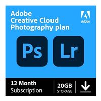 Adobe Creative Cloud Photography Plan 20GB