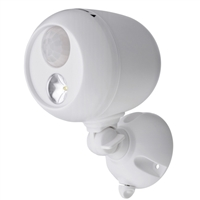 Mr. Beams MB330 Wireless LED Spotlight with Motion Sensor and Photocell White