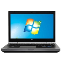 "HP EliteBook 8470P Windows 7 Professional 14"" Laptop Computer Refurbished - Silver"