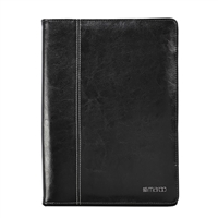 Cyber Acoustics Premium Leather Folio for Surface Pro 3 - Black