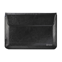 Cyber Acoustics Premium Leather Sleeve for Surface 3 - Black