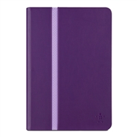 Belkin Stripe Cover for iPad mini/mini 2/mini 3 - Plum
