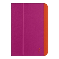 Belkin Slim Style Cover for iPad Mini/Mini 2/Mini 3 - Azalea/Fiesta