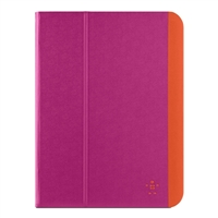 Belkin Slim Style Cover for iPad Air/Air 2 - Azalea/Fiesta