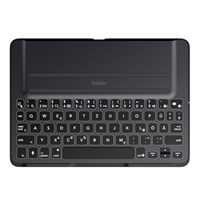 Belkin QODE Ultimate Pro Keyboard Case for iPad Air - Black