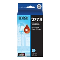 Epson 277XL High Capacity Light Cyan Ink Cartridge