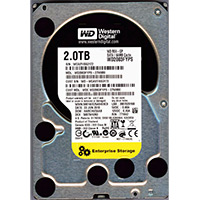 "WD Black Edition 2TB SATA II Intellipower 3.0Gb/s 3.5"" Desktop Hard Drive (Refurbished)"