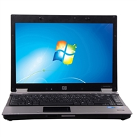 "HP EliteBook 6930P Windows 7 Professional 14.1"" Laptop Computer Refurbished - Gray"