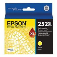 Epson 252XL High Capacity Yellow Ink Cartridge