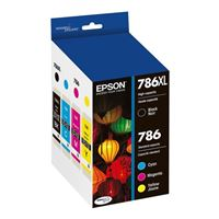 Epson T786XL BLACK & C/M/Y INK