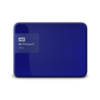 WD My Passport Ultra 2TB 5,400 RPM 3.5 inch Secure External Portable Hard Drive - Blue