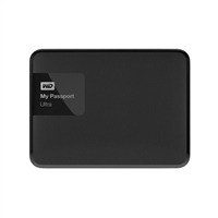 "WD My Passport Ultra 1TB 5,400 RPM USB 3.0 2.5"" Secure External Portable Hard Drive - Black"