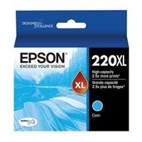 Epson T220XL220 High Capacity Cyan Ink Cartridge