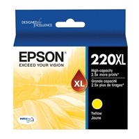 Epson 220XL High Capacity Yellow Ink Cartridge