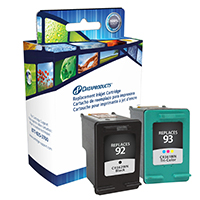 Dataproducts Remanufactured HP 92/93 Ink Cartridge Combo Pack