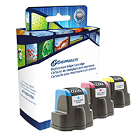 Dataproducts Remanufactured HP 02 Ink Cartridge Multi-Pack
