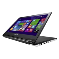 "ASUS Q502LA-BBI 15.6"" 2-in-1 Touch-Screen Convertible Ultrabook Refurbished - Black"