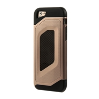 Bytech Case Logic Durable Carbon Fiber Case for iPhone 6 - Gold