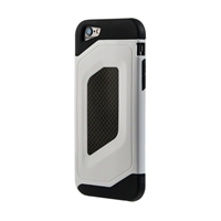 Bytech Case Logic Durable Carbon Fiber Case for iPhone 6 - White