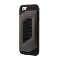 Bytech Case Logic Durable Carbon Fiber Case for iPhone 6 Plus - Black