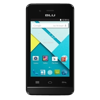 BLU Dash 3.5 CE D350 Unlocked GSM Dual-SIM Dual Core Android Phone - Black