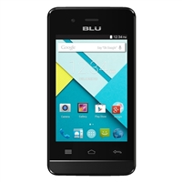 BLU Dash 3.5 CE D350 Unlocked GSM Dual-SIM Dual Core Android Phone - White