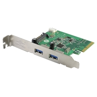 Vantec 2-Port USB 3.1 Gen II Type-A PCIe Host Card
