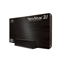 "Vantec NexStar 3.1 - 3.5"" SATA 6Gb/s to USB 3.1 Gen II Type-A HDD Enclosure"